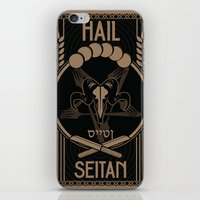Vegistopheles iPhone & iPod Skin