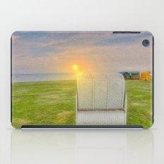 At the beach iPad Case