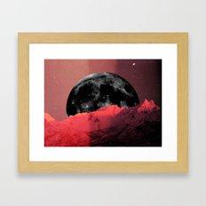 ME(N)TAL MOON Framed Art Print