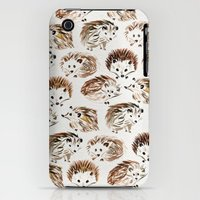 iPhone 3Gs & iPhone 3G Cases featuring Hedgehogs by Cat Coquillette