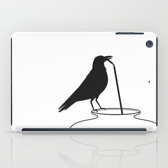 Thirsty crow iPad Case