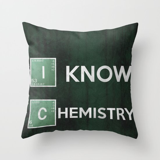 BB Poster 05 Throw Pillow