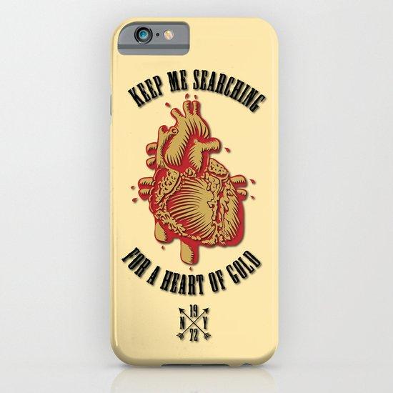 """Heart of Gold""  (""ANALOG zine"") iPhone & iPod Case"