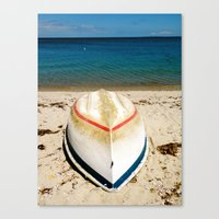Red, White, And Blue Canvas Print