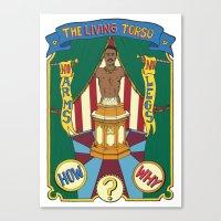 The Living Torso Canvas Print