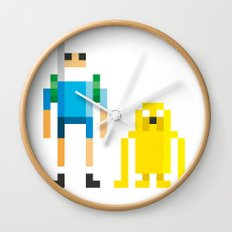 Finn & Jake Wall Clock