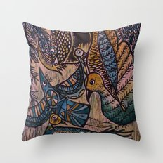 Birds (2) Throw Pillow