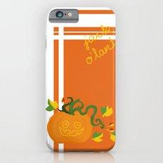 jack o´lantern Slim Case iPhone 6s