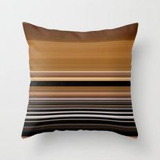 stripes 229 Throw Pillow