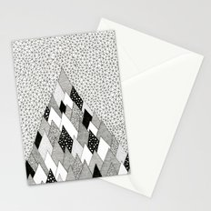 The Mountain Covered in Trees Stationery Cards