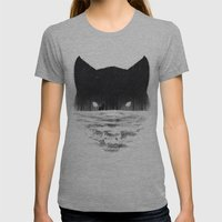 Wolfy Womens Fitted Tee Athletic Grey SMALL