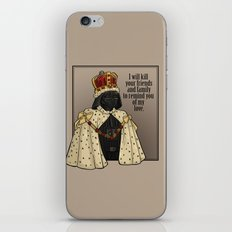 Oceans Rise. Rebellions Fail. iPhone & iPod Skin