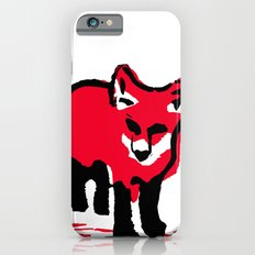 Red Fox Stamp Slim Case iPhone 6s