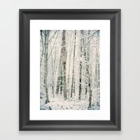 A Day In Winter Framed Art Print
