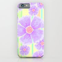 Spring Floral And Stripe… iPhone 6 Slim Case