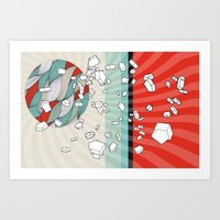 The right direction of life Art Print