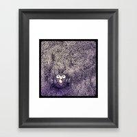 An Animal.  Framed Art Print
