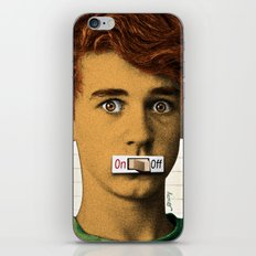 Shut Up. iPhone & iPod Skin