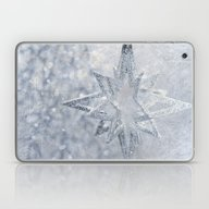 Silver Stars Ornament Laptop & iPad Skin