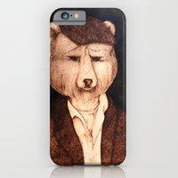iPhone & iPod Case featuring Mr. B the Bear by Red Lady Locks