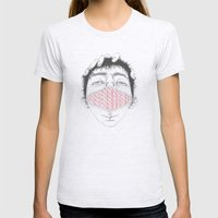 Misfit Circuit 1 Womens Fitted Tee Ash Grey SMALL