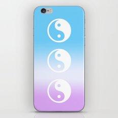 yin yang iPhone & iPod Skin