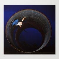 Bam - full pipe 99 Canvas Print