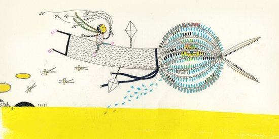 Tree Bird Canvas Print
