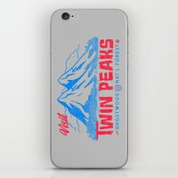 Visit Twin Peaks (hot pink) iPhone & iPod Skin