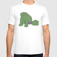 The Incatable Hulk Mens Fitted Tee White SMALL