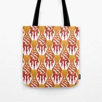 SCORCH Pattern [WHITE] Tote Bag