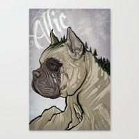 Allie Memorial Canvas Print