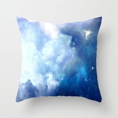 Starclouds Throw Pillow