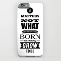 HP Quotes - Goblet of Fire iPhone 6 Slim Case
