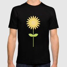 #58 Daisy Mens Fitted Tee SMALL Black