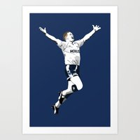 Gazza - School Boy's Own Stuff Art Print