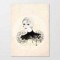 Lady 2 Canvas Print
