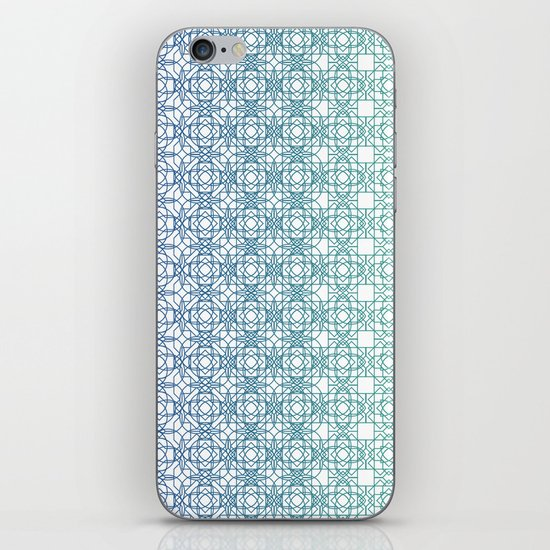 Metamorph 001 | Blue iPhone & iPod Skin