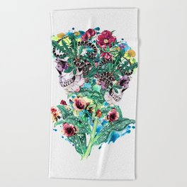 Beach Towel - Skull BS - RIZA PEKER