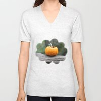 Lonely Pumpkin Unisex V-Neck