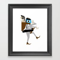 Business Brawl - The Sleeper Framed Art Print