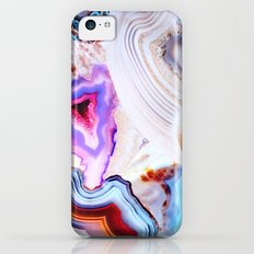 Agate, a vivid Metamorphic rock on Fire iPhone 5c Slim Case