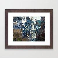 Many Windows Framed Art Print