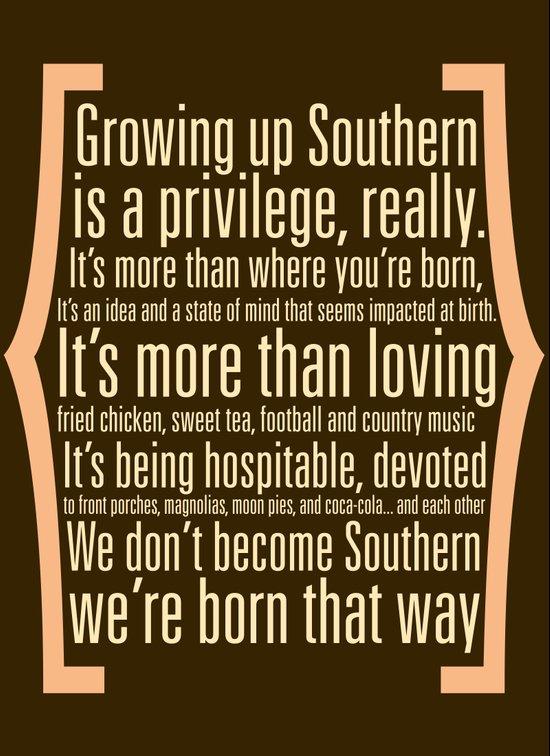 Southern Art Print