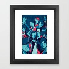 The Upside Down Framed Art Print