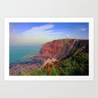 Hartland Point Art Print