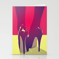 shoes Stationery Cards featuring Shoes by Giuseppe Cristiano