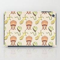 sticker monster pattern 4 iPad Case