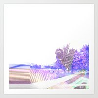 Landscape2 City Glinch Art Print