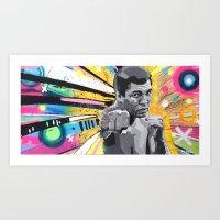 Box Ali Muhammad  Art Print